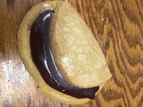 The Bakery Shoppe's flip-a-roo donut
