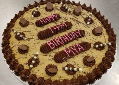 14 inch giant cookie cake