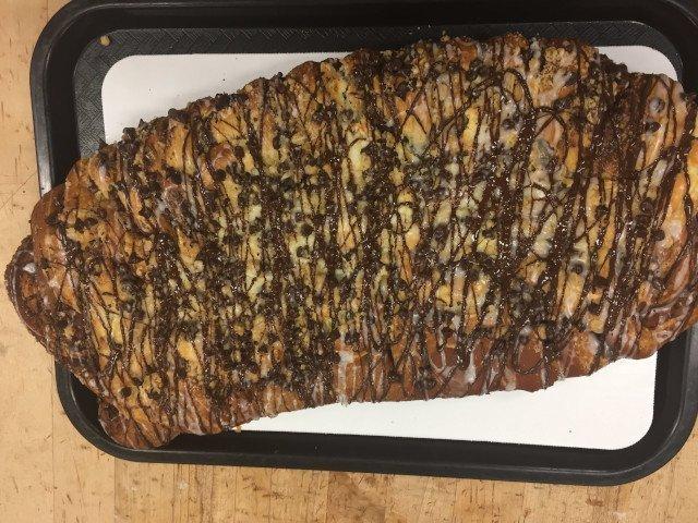 Chocolate Cheese Coffee Cake