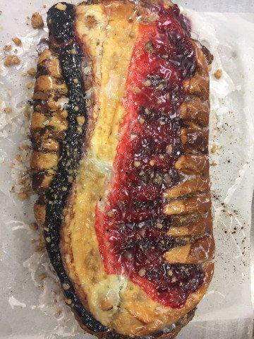 Fruit Coffee Cake (Blueberry - Cheese - Raspberry)