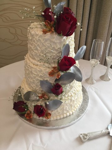 3 Tier Cake by The Bakery Shoppe