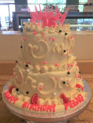 2 Tier Birthday Cake from The Bakery Shoppe