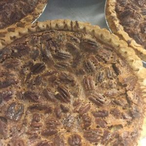 Pecan Pies Fresh out of the Oven