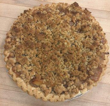 The Bakery Shoppe's Apple Crumb Pie